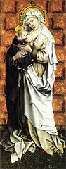 Panneaux de Flémalle : Vierge debout