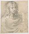 Madonna and Child (recto); Head and Bust of Saint John the Evangelist (verso) MET DP810966.jpg