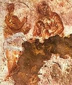 Maria amamentando o Menino Jesus, século II.