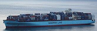 Maersk - Mærsk Kalamata in Seattle harbor