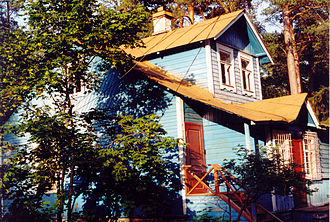 Dacha - An old dacha near Saint Petersburg