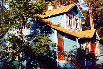 Dacha - An old dacha near Saint Petersburg