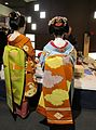 Maiko, Katsune and Umeyae, at Kyoto in Japan; 2012.jpg