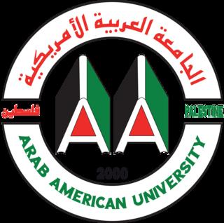 Arab American University (Palestine) Private university in Palestine