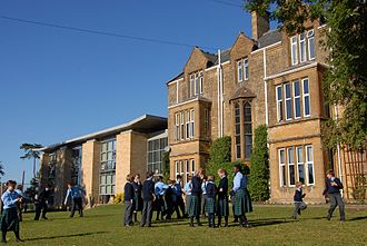 Sherborne Preparatory School - Image: Main school