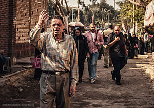City of the Dead (Cairo) - Main the City of the Dead, Cairo, Egypt.