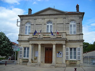 Baroville - Image: Mairie Baroville