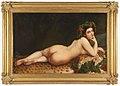 Makaava alaston nainen, Painting by Nikanor Tjutrumov.jpg