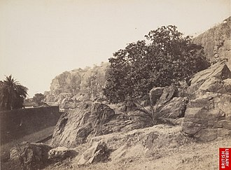 Malabar Hill - Malabar Hill in the 1850s
