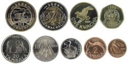 Old Coins Of The Malawian Kwacha