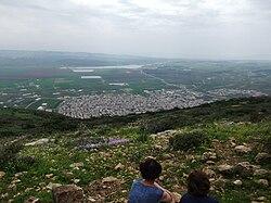 מראה כללי של כפר מנדא