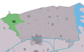Location of Holwerd