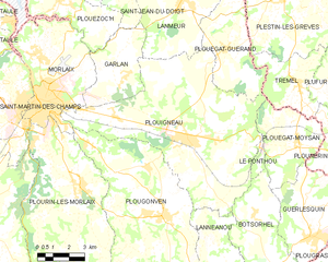 Map commune FR insee code 29199.png