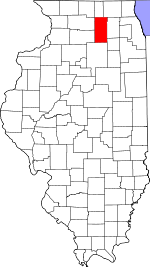 Map of Illinois highlighting DeKalb County.svg