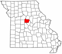 Map of Missouri highlighting Cooper County.png