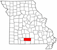 Map of Missouri highlighting Douglas County.png