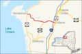 Map of NY Route 178 infobox.png