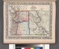 Map of Oregon, Washington and part of Idaho. NYPL1510821.tiff