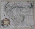 Mapa del Peru. Eman Bowen. Ca. 1750.