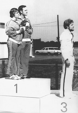 Margaret Murdock - Murdock (left) and Bassham at the 1976 Olympics