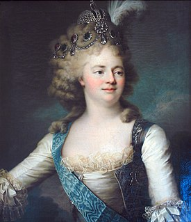 Maria Feodorovna (Sophie Dorothea of Württemberg) wife of Paul I of Russia