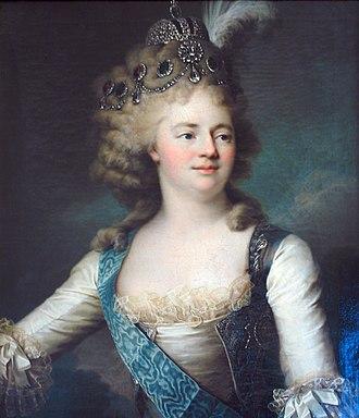 Maria Feodorovna (Sophie Dorothea of Württemberg) - Maria Feodorovna as tsesarevna