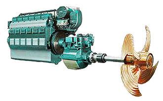 Marine propulsion - 4-Stroke Marine Diesel Engine System