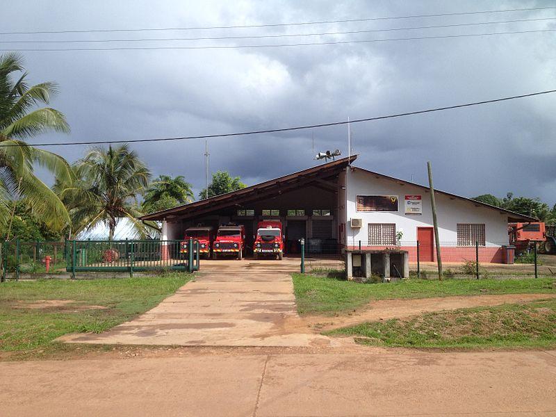 Caserne des pompiers de Maripasoula