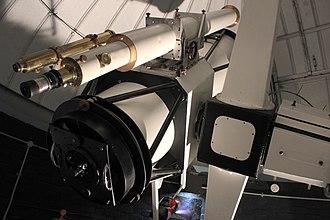 Bayfordbury Observatory - Image: Marsh telescope (11928047634)