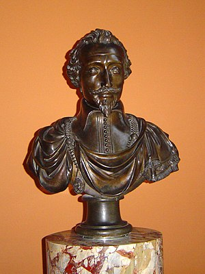 Martin Fréminet - Portrait bust of Fréminet by Barthélemy Tremblay, now in the Louvre