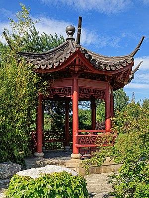 Erholungspark Marzahn - Pavilion in the Chinese garden