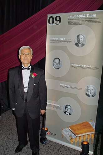 Masatoshi Shima - Masatoshi Shima at the Computer History Museum 2009 Fellow Awards event
