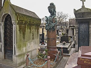 Victor Massé - Grave of Victor Massé by Charles Garnier