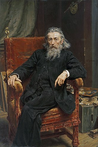 Jan Matejko - Jan Matejko, Self-portrait, 1892