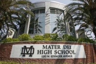 Mater Dei High School (Santa Ana, California) - Mater Dei High School, Santa Ana, California