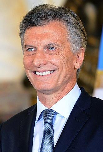 President of Argentina - Image: Mauricio Macri 2016