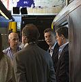 Mauricio Macri anunció la reanudacion del servicio de la line A de subterráneos (8535486450).jpg