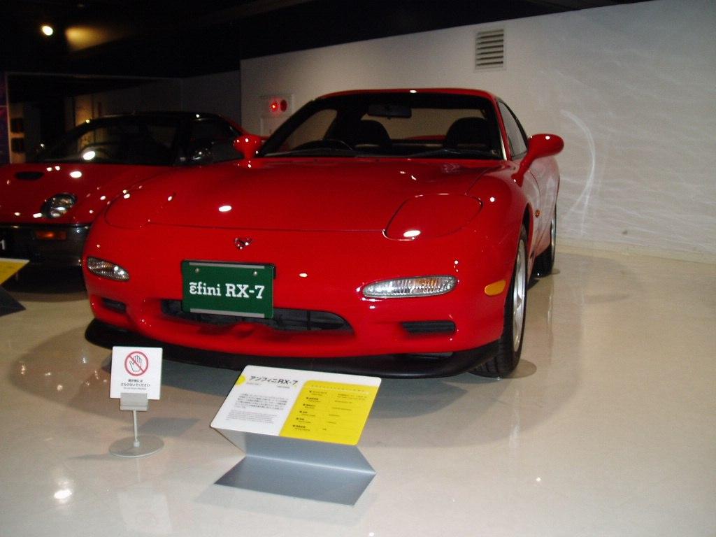 Mazda 3rd generation RX-7, FD