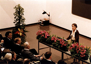 Lecture - Barbara McClintock delivers her Nobel lecture