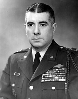 Lionel C. McGarr Recipient of the Purple Heart medal