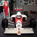 McLaren MP4-5 (Senna) front Honda Collection Hall.jpg