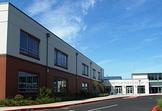 McMinnville High School - Image: Mc Minnville Oregon high school