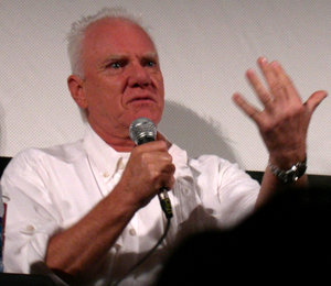 "The Monster of Phineas-n-Ferbenstein - Malcolm McDowell continued his portrayal of Grandpa Reginald in ""The Monster of Phineas-n-Ferbenstein""."