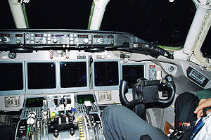 McDonnell Douglas MD-90 - Saudi Arabian Airlines MD-90 with a non-standard glass cockpit