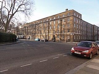 grade II listed square in London Borough of Camden, United kingdom