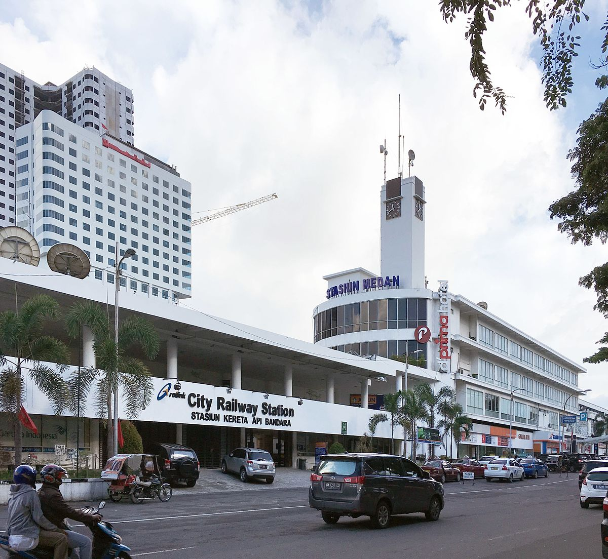 Medan Railway Station Wikipedia