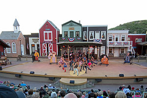Medora Musical - The Medora Musical in the Burning Hills Amphitheatre.