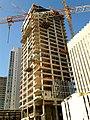 Meier on Rothschild tower under construction.jpg