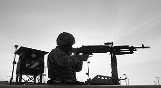 296th Infantry Regiment - Image: Member bco 1 296th patrols camp delta jtfg