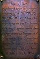 Memorial to Herbert Brewer in Gloucester Cathedral.jpg